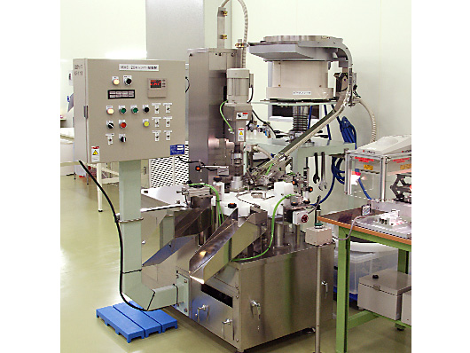 Clean Room, 2nd phase processing machinery